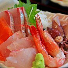 地魚お刺身定食