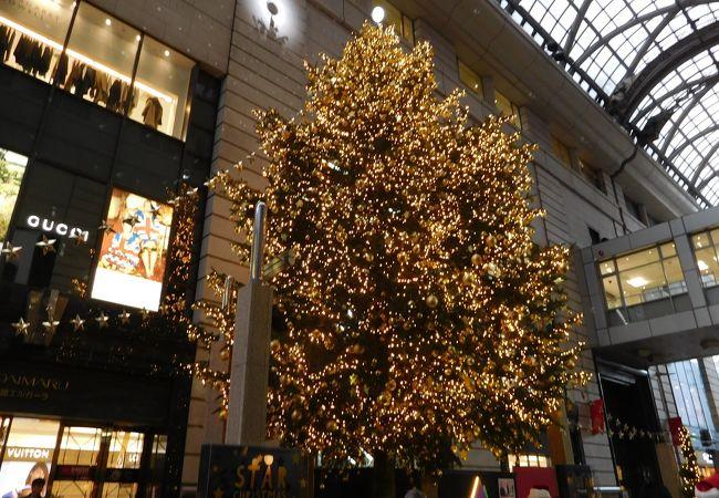 高さ10メートルのツリー