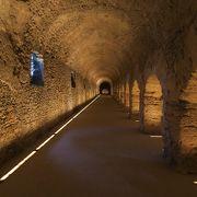 ローマの地下道