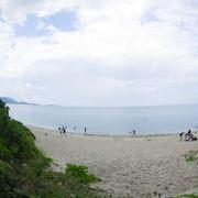 シュノーケリングもできるビーチ