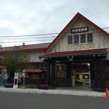 可愛い駅ですね