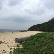 砂浜が広くて長い穴場ビーチ