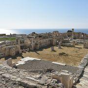 レメソスで一番の見どころ。キプロスで二番目に多いモザイク。