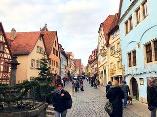 中世ヨーロッパの街並み