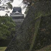 加藤時代と細川時代の石垣