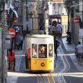 ■写真スポット  リスボン・ビッカ線のケーブルカー
