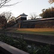 熊本城櫓群の中の1つ馬具櫓