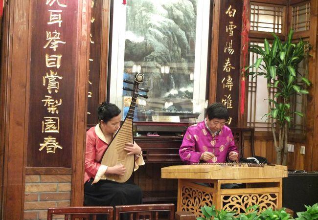 琵琶と何等かの弦楽器?の生演奏
