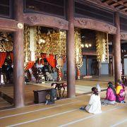 永平寺で最も高い場所にある