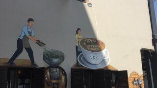 オシャレなカフェも多い