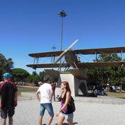 南大西洋横断飛行の記念碑