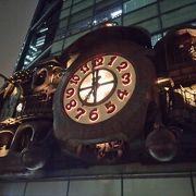日テレの大時計