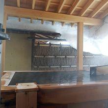 部屋付の温泉