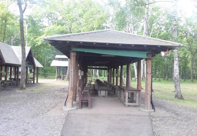中標津町緑ヶ丘森林公園 キャンプ場