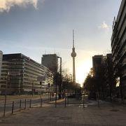 ベルリンのショッピング・トレンドエリアのひとつ