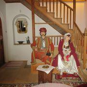 トルコ人の方の家が、綺麗に保存されています♪