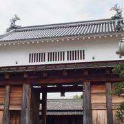 掛川城から離れてます