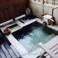 素敵な客室露天風呂を満喫