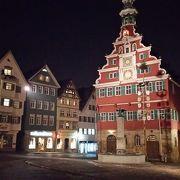 絵本の中の町