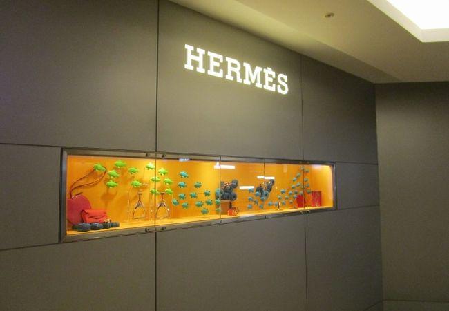 エルメス (台北店)  ぱっやり温かい国ですね