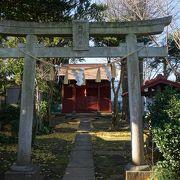 海隣寺の境内端っこ