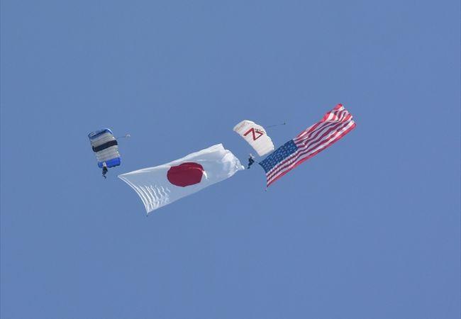 アメリカの雰囲気が楽しめる航空祭