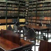 神秘的な落ち着く図書館。
