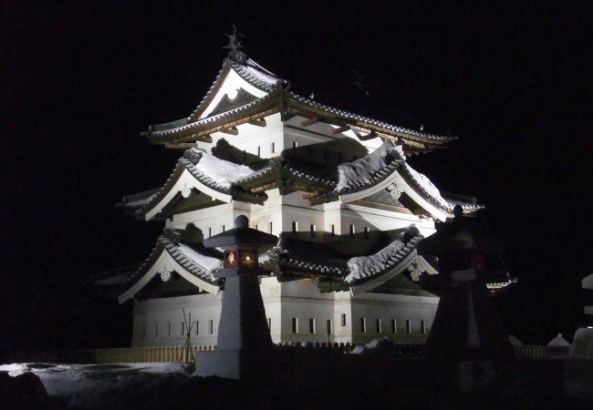 弘前城雪灯籠まつり2017