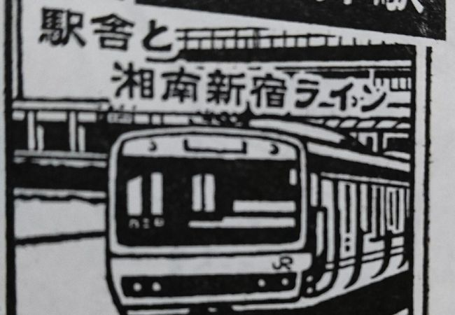 横須賀線と新宿・湘南ラインの駅
