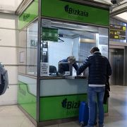 空港(Bilbao-Loiu /Sondica)から市内までの足となる空港バス