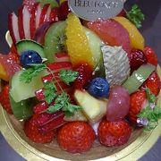 福岡三越内にある高級感溢れるケーキ屋さん♪