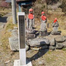 太田道灌の父の館跡の寺