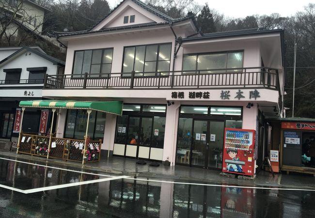 箱根湖畔荘 桜本陣