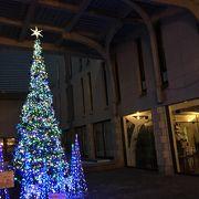 クリスマス時期の訪問
