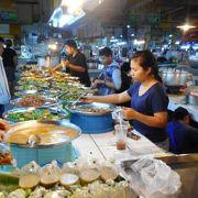 チェンマイ北エリアでは、1番大きな市場である。