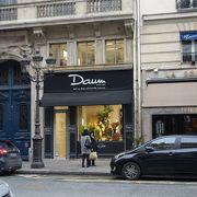 Daum。rue de la Paix の中ごろにあります。