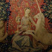「貴婦人と一角獣」が有名ですが,この場所は本来,古代ローマの遺跡です。