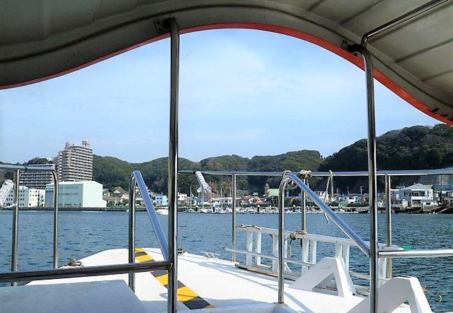 渡し船 浦賀 東渡船場(浦賀の渡し) 横須賀市