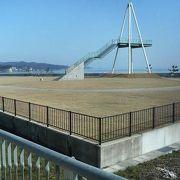日本海や氷見漁港周辺の町並みがよく見渡せます