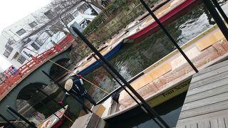 初めてのこたつ舟で川下り!