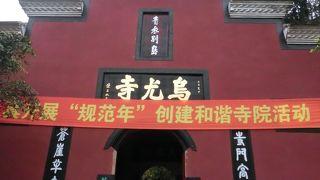 楽山大仏の入場券に 烏尤寺の拝観券もついていた