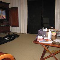 リビングルーム まだ古いTVです