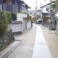 宇治上神社より徒歩ゆっくりで約7分 方向音痴でも迷わなかった