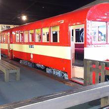 井川線で使われていた客車。