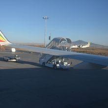 ボレ国際空港のスポットのエチオピア航空