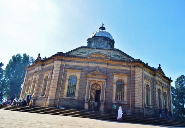 聖ギオルギス教会 最後の皇帝が戴冠式をあげた教会