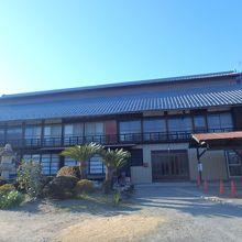 田島弥平旧宅の主屋の外観
