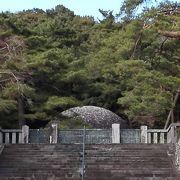 昭和天皇、大正天皇の御陵は巨大な古墳です