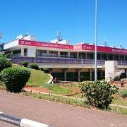 出国時に大渋滞のエンテベ国際空港