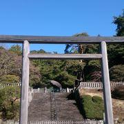 四季折々の自然に守られ天皇の墓地